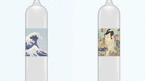 ถึงญี่ปุ่นที่แท้จริง ถุงยางลายภาพวาดญี่ปุ่น ไอเทมใหม่ที่หนุ่มๆ ห้ามพลาด
