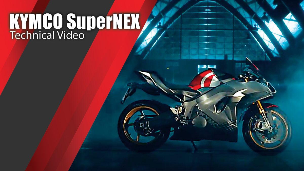 KYMCO SuperNEX - Technical Video