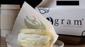 """gram Pancakes Premium Pancakes"""" แพนเค้กเด้ง ดึ๋ง นุ่มละมุน 3 ชั้น"""