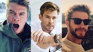 ประชันความหล่อแบบมีคุณภาพกับสามพี่น้อง Liam, Chris และ Luke Hemsworth