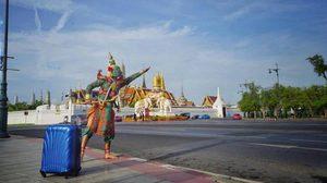 """ไอเดียบรรเจิด! """"ทศกัณฐ์"""" ยกทัพยักษ์เที่ยวทั่วไทย"""