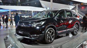 Honda CR-V 2018 เจนฯ 5 เตรียมเปิดตัว รถเอสยูวีที่ ประเทศอินเดีย เดือนหน้าเจอกัน