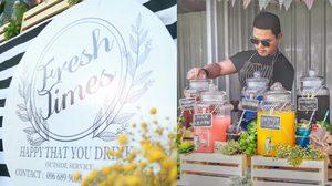ดับร้อนหน่อย!!! Freshtime ร้านน้ำผลไม้สุดซ่า เปิดแล้วที่ตลาด Artbox JJ