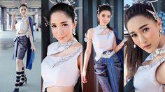 สวยงามตามท้องเรื่อง พริตตี้ PTT สุดงดงามในชุดไทย จากงาน MotoGP บุรีรัมย์