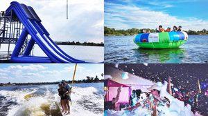 สนุกสุดเหวี่ยงที่ 'Wake A Lot Water Park'สวนน้ำแห่งใหม่ของจ.ชลบุรี