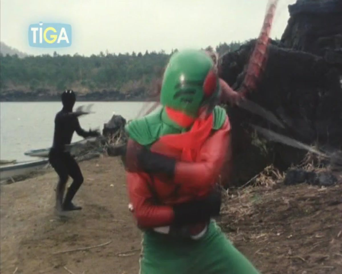 Masked Rider Skyrider ตอนที่ 35-1