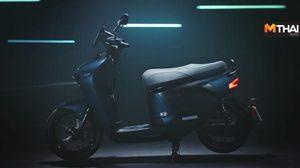 Yamaha EC-05 สกู๊ตเตอร์ไฟฟ้าโฉมใหม่ สับเปลี่ยนแบตเตอรี่ได้ทันใจ