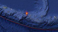 """แผ่นดินไหวนอกชายฝั่ง """"อะแลสกา"""" รุนแรง 6.6"""