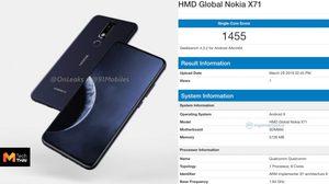 หลุดสเปค Nokia X71  อาจมาพร้อม Snapdragon 660 และหน้าจอเจาะรู