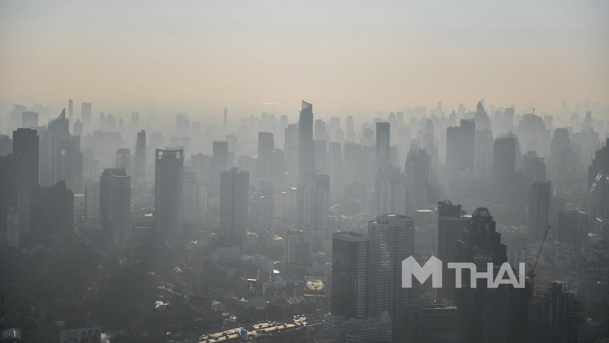 เช้านี้ กรุงเทพฯ พบค่าฝุ่น PM2.5 เกินมาตรฐาน 56 พื้นที่