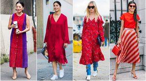 สตรองขั้นเทพ กับ แฟชั่นสีแดง ถึงจะผิวคล้ำแค่ไหน ก็มีวิธี มิกซ์แอนด์แมทช์ ให้สวยตะลึง!!
