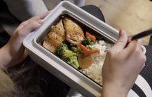 กล่องข้าวที่มีระบบอุ่นด้วยไอน้ำในตัว