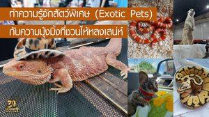 สัตว์เลี้ยงชนิดพิเศษ (Exotic Pets)