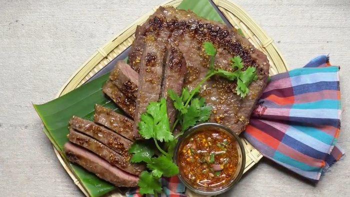 วิธีทำ เนื้อย่างจิ้มแจ่ว อร่อยง่ายๆ ที่บ้าน