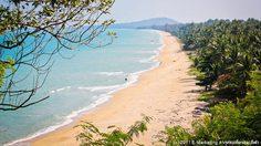 ถนนเลียบชายทะเล เส้นเขาพลายดำ-อ่าวท้องหยี สวยที่สุดของฝั่งอ่าวไทย
