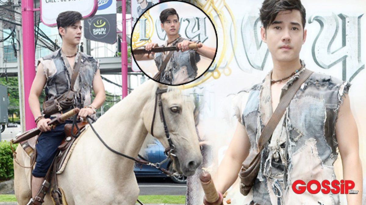 อย่างเท่! มาริโอ้ ควบม้ากลางกรุง ทำสาวกรี๊ดสนั่นเมือง