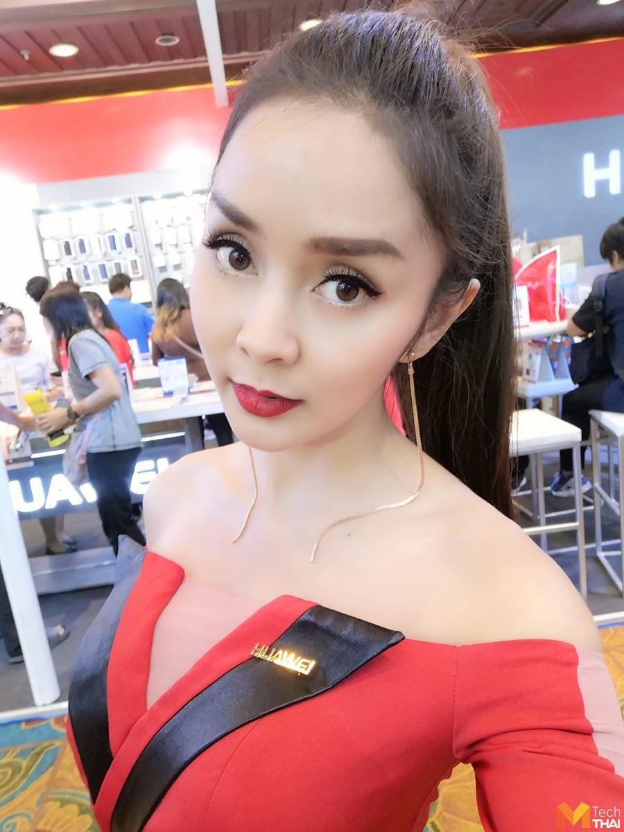 รูปจากกล้องหน้าของ Huawei P20 Pro