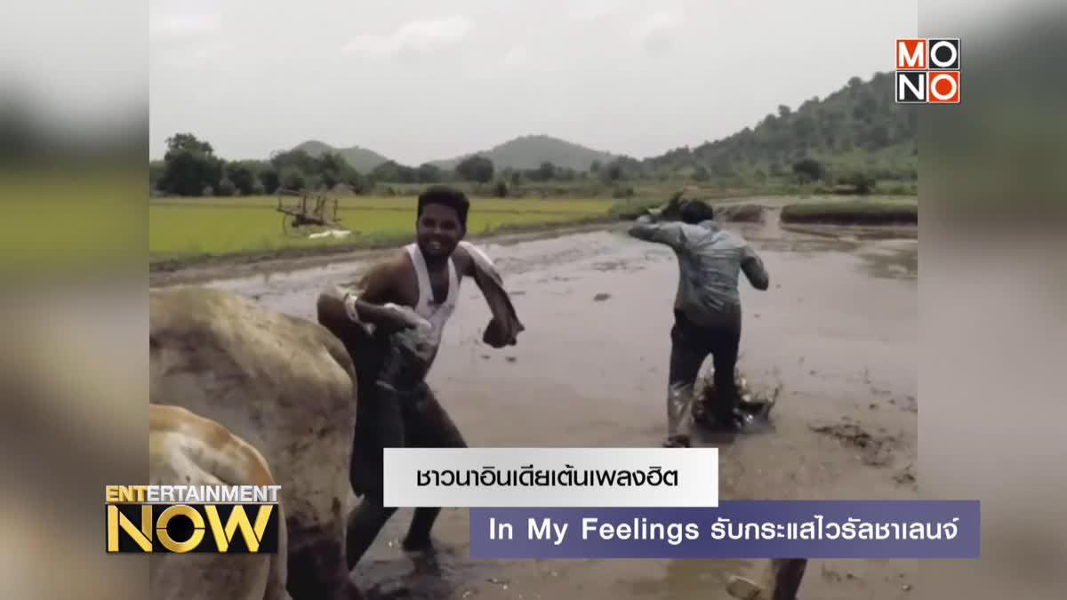 ชาวนาอินเดียเต้นเพลงฮิต In My Feelings รับกระแสไวรัลชาเลนจ์