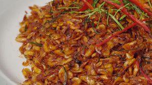 วิธีทำ กุ้งฝอยคั่วพริกแกง ทำง่าย กินเพลิน