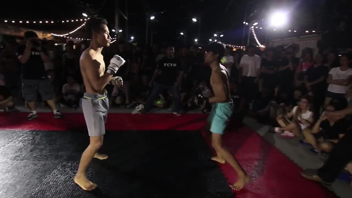 FIGHT CLUB THAILAND ครบรอบหนึ่งปี โจอี้(Joey) x น้อยสตีฟเล่อ(Noize-Stifler) คู่ที่284.mp4