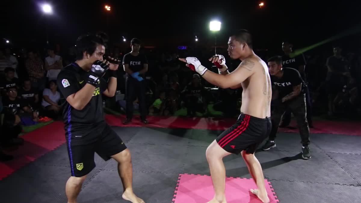 Fight Club Thailand รถซิ่งกรุงเทพ วิท x เจ คลองเจ็ก คู่ที่ 243