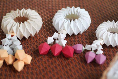 พวงมาลัย พานพุ่ม PaperCraft