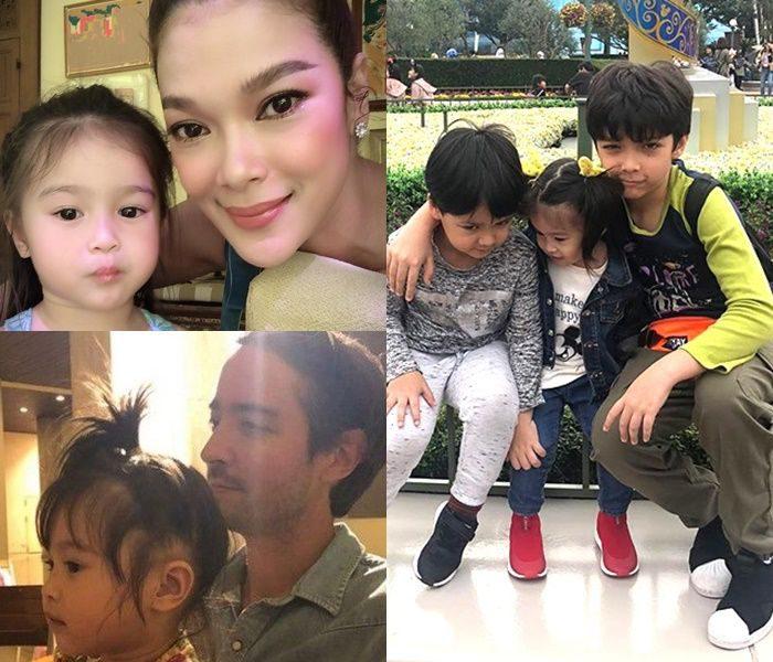 ฮิวโก้ - ฮาน่า - ลูกชาย และลูกสาวบุญธรรม น้องนาดา