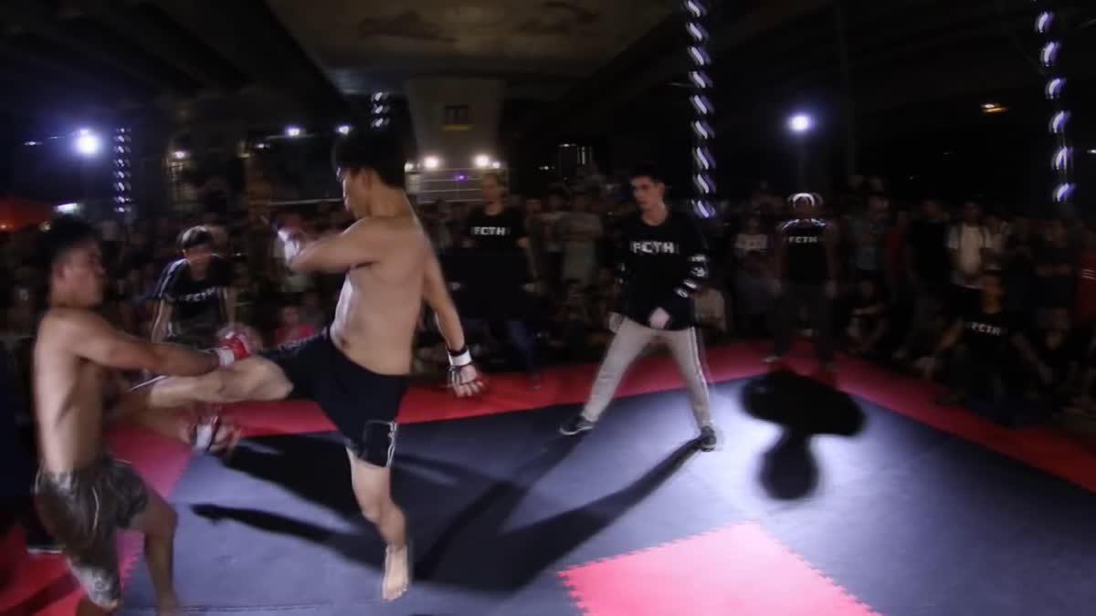 Fight Club Thailand ประชาชน เกย์ชื่อตู้ X ฮะฮ่า คู่ที่ 97