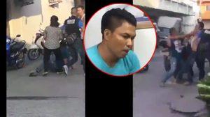 คลิปนาทีตำรวจระงับเหตุวิวาท ก่อนถูกชายเมาคลั่งยิงดับ