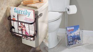 10 ไอเดียจัดเก็บหนังสือ ในห้องน้ำให้ไม่เปียกไม่พัง