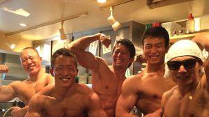 Macho ร้านอาหารที่ญี่ปุ่น พ่อค้าแซ่บ กล้ามใหญ่