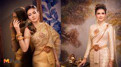 แอน สิเรียม ย้อนอดีต 24 ปี นางเอกละครทวิภพ สวม ชุดไทยผ้าไหมยกลำพูน วนัช กูตูร์