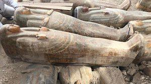 อียิปต์ขุดพบโลงมัมมี่โบราณชุดใหญ่กว่า 20 โลง
