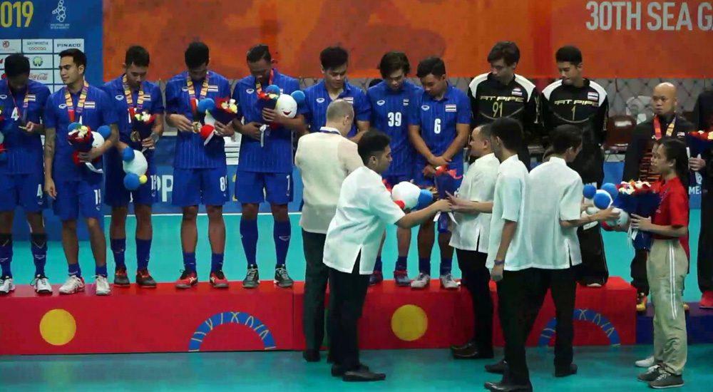 ฟลอร์บอลชาย ทีมชาติไทย ดวลจุดโทษชนะ สิงคโปร์ คว้าเหรียญทอง ซีเกมส์ 2019