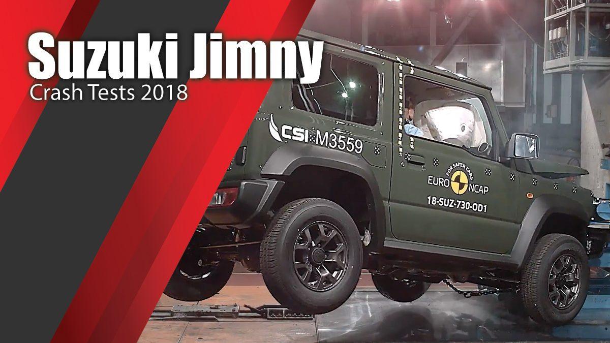 ท้าพิสูจน์ระบบรักษาความภัยของ Suzuki Jimny - Crash Tests 2018