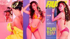 ทับทิม มัลลิกา RUSH Magazine เน็ตไอดอลคนสวย กับการมีส่วนร่วมออกแบบลุคแซ่บจี๊ด