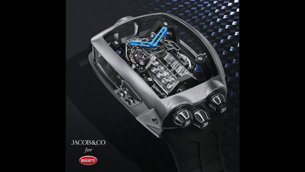 Jacob & Co - Bugatti Chiron Watch