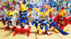 SD กันดั้ม ซันโงคุเด็น โมเดล คิท ซีรี่ย์ 1 จาก Big One toy