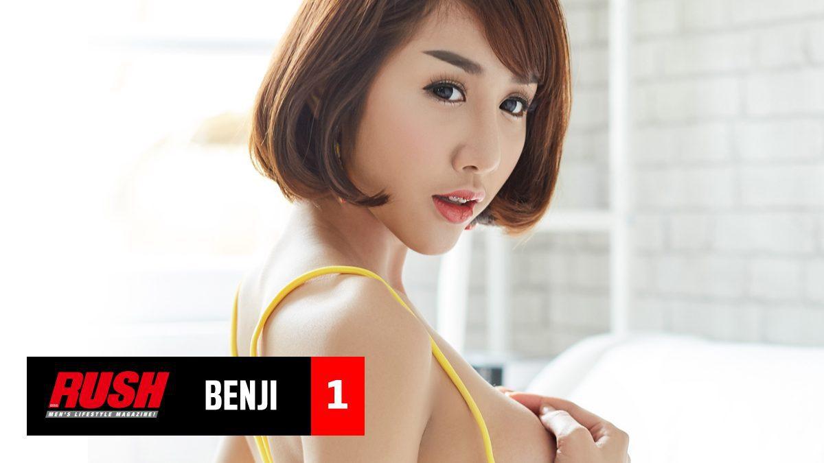 เบนจิ RUSH นางแบบสาวสุดซ่าส์ กับหน้าอกสะท้านปฐพี