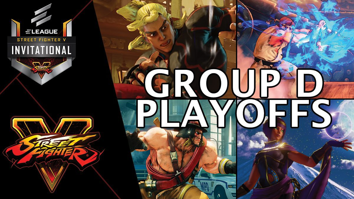 การแข่งขัน Street Fighter V Invitational 2018 | Group D [2/2]