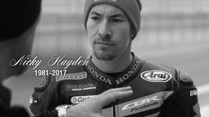 วงการ Motor Sport เศร้า Nicky Hayden อดีตแชมป์โลก MotoGP ฤดูกาล 2006 เสียชีวิตแล้ว