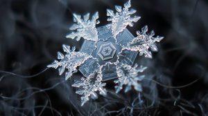 """ไม่อยากจะเชื่อ เมื่อซูมใกล้ๆ """"เกล็ดหิมะ"""" จะสวยขนาดนี้!"""