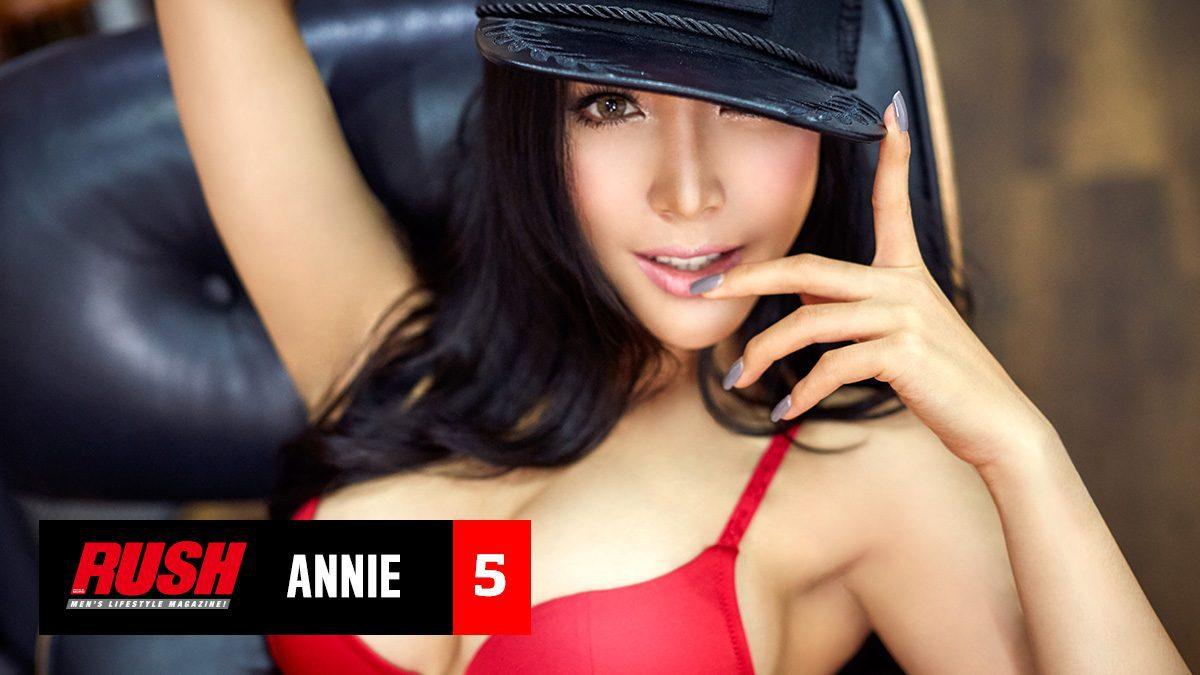 ที่สุดของความเซ็กซี่จาก แอนนี่ ปริศนา นักซิ่งสาวสุดฮอต Issue 86