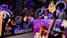 ซัมซุง ผุดธีม Galaxy Studio ใหม่ Neon Summer Paradise จัดมุมถ่ายภาพกับไฟนีออนสีสันสดใส