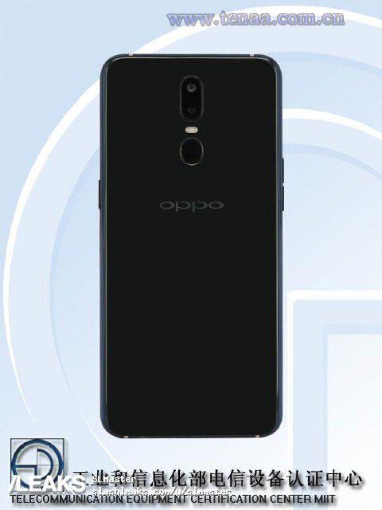 Oppo R17 Pro ด้านหลัง
