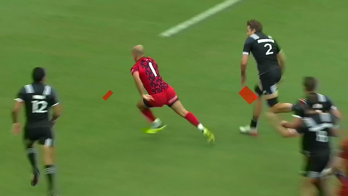 ศึกรักบี้ที่ดุเดือดยิ่งขึ้นด้วยกฎและจำนวนผู้เล่น HSBC Singapore Rugby 7s