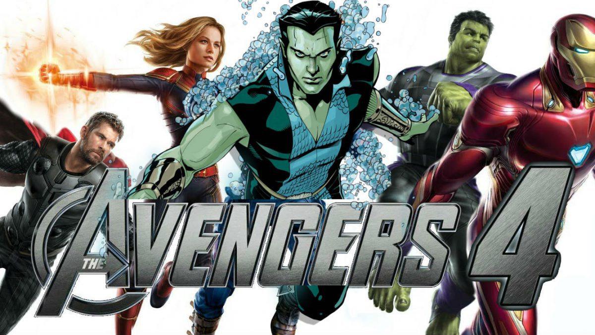 Namor +การ์เดี้ยน 3 +แคทเธอรีน แลงฟอร์ดใน Avengers 4