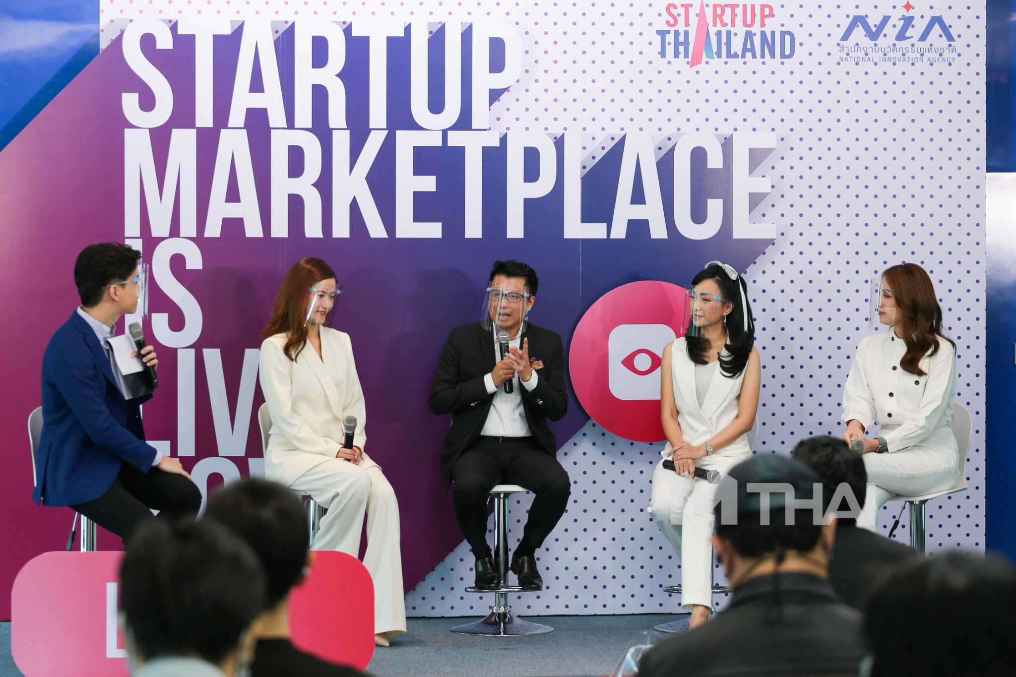 """ผนึกกำลัง 3 Influencer เจ้าหญิงแห่งวงการไอที เปิดช่องทางตลาดใหม่ ช่วยสตาร์ทอัพไทยสู้ภัยโควิด ผ่านทางรายการ """"Startup Marketplace is Live Now"""""""