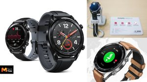 Huawei เปิดตัว Watch GT สมาร์ทวอทช์ราคาเบาๆ ที่งาน Thailand Mobile Expo 2019