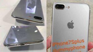 เผยโฉม iPhone 7s Plus เครื่องดัมมี่ มาพร้อมรองรับการชาร์จไร้สาย